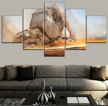 Star Wars Science Fiction Movie Modern HD Print 5 Piece Canvas Wall Art For Living Room Painting