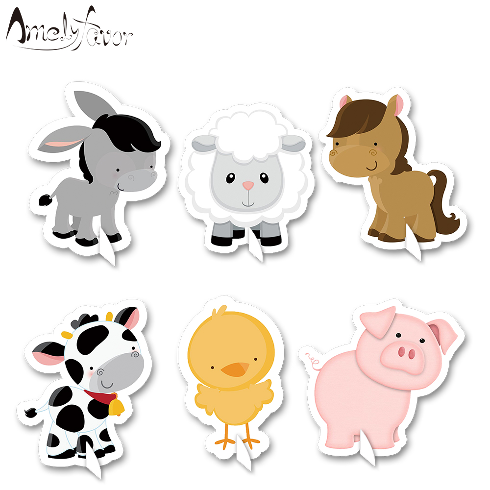 Farm Animal Party Decorations /& Supplies Animals Decor For Baby Shower Birthday