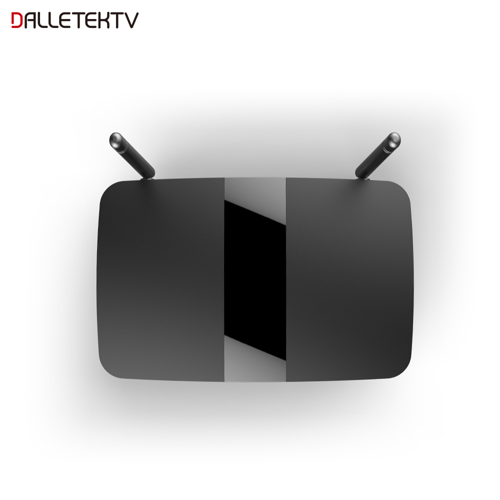 Dalletektv Smart Android TV Box Android 7.1 OS Rockchip RK3229 Unterstützung WiFi 4K H.265 Mit Media-Player Set-Top Box nur TV Box