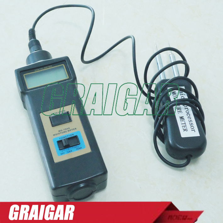 MC-7806 enjoy high praise and 100% original authentic product MC-7806  Moisture Meter For Tobacco, Cotton Paper, Building, Soil mc 7806 digital moisture analyzer price pin type moisture meter for tobacco cotton paper building soil