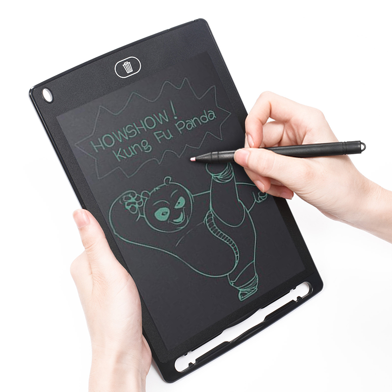Home /& Office Great Gifts for Kids OwlTree Portable 12 inch LCD Writing Tablet Digital Drawing Tablet Handwriting Pads Electronic Tablet Board Ultra-Thin Board with Stylus for School Black