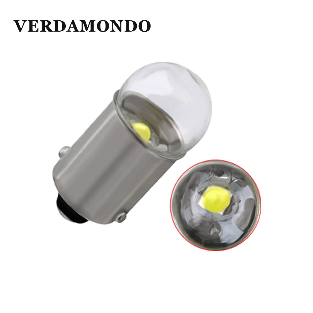 1 Pcs BA9S T4W LED Car Light Bulb T2W T3W H5W Interior Car LED License Plate Light 1 LED 3030 SMD DC12V 12913 12910 12929