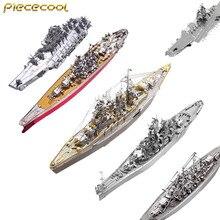 Piececool P091 P096 P084 P083 P056 P101 линкор 3D металла сборки модели Puzzle креативные игрушки детей подарок на день рождения