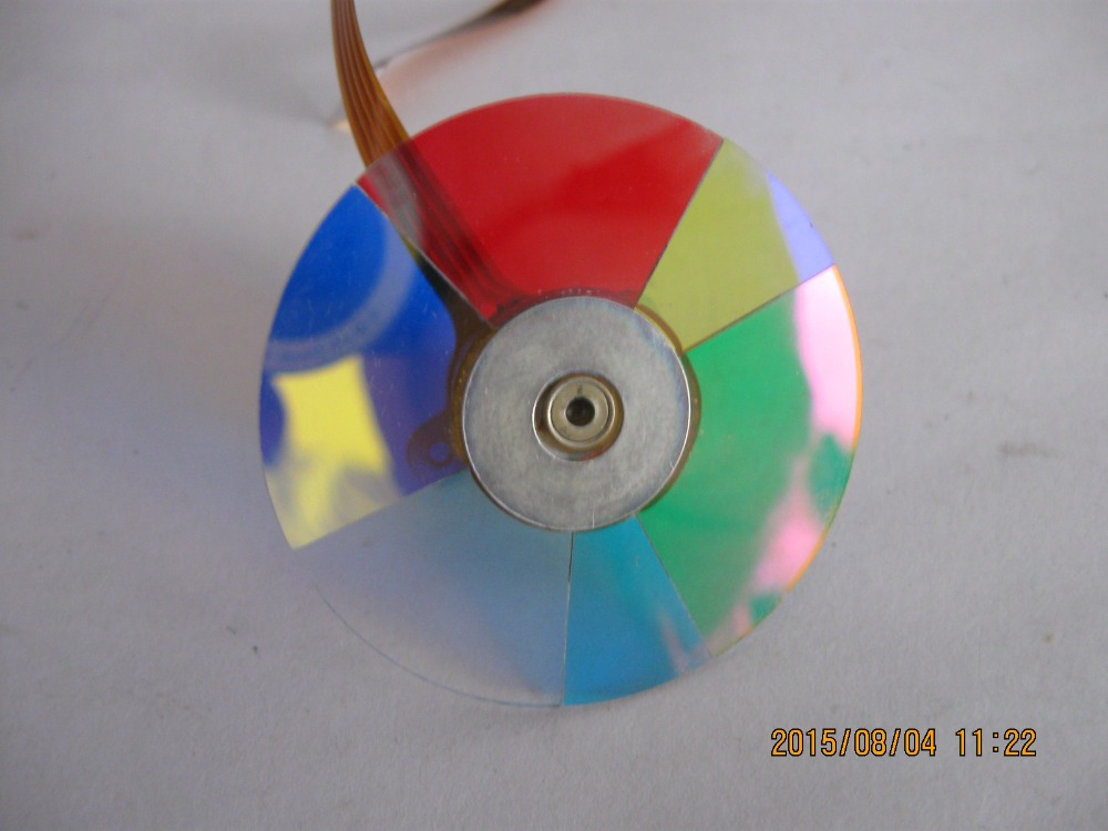 Projector Color Wheel For ViewSonic PJD5123 PJD5523W PJD5233 PJD5223 new original projector color wheel for viewsonic pjd6240 color wheel