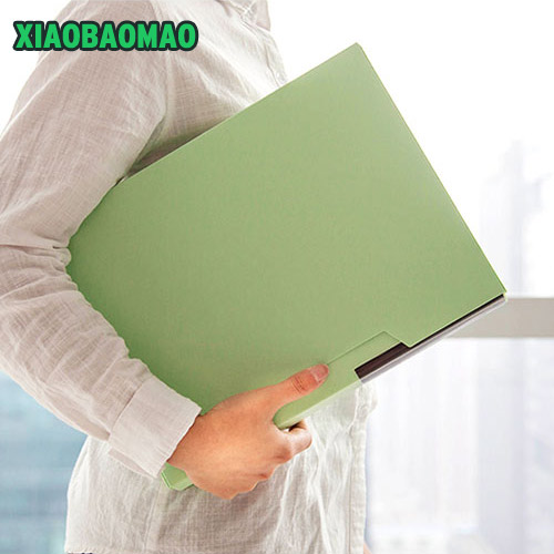 Korean Stationery cute File Folder A4 Document Bag 80 pages Expanding filing folder index holder organizer documents simple plastic 5 section index band folder document file storage organizer filling stationery a4 size expanding wallet 4 colors