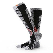 Winter  Thermal Ski Socks Cotton Sport Snowboard Cycling Socks Thermosocks Leg Warmers For Men Women RB3301 M L
