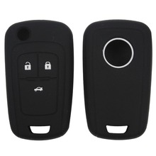 цена на Silicone car key cover protector for Buick for Chevrolet Regal Lacrosse Encore Excelle GT/XT /Opel Astra VAUXHALL MOKKA Zafira