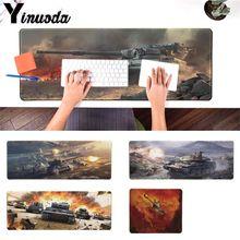 Yinuoda простой дизайн world of tanks большой Мышь pad PC компьютер коврики размеры для 180*220 200*250 250*900 300*400 и 900*290*2 мм