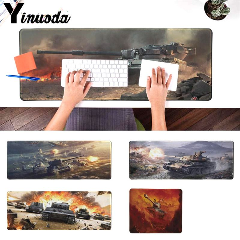 Yinuoda Simple Design world of tanks Large Mouse pad PC Computer mat Size for 180*220 200*250 250*290 300*900 and 400*900*2mm