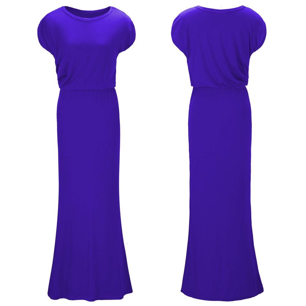New Women\'s Summer  Long Maxi Evening Party Dress Beach Dresses Sundress