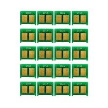 20X чип тонера для 131A CF210A CF211A CF212A CF213A для hp M251n M251nw M276n M276nw, CRG-131/331/731 для Canon MF8280Cw LBP7110Cw