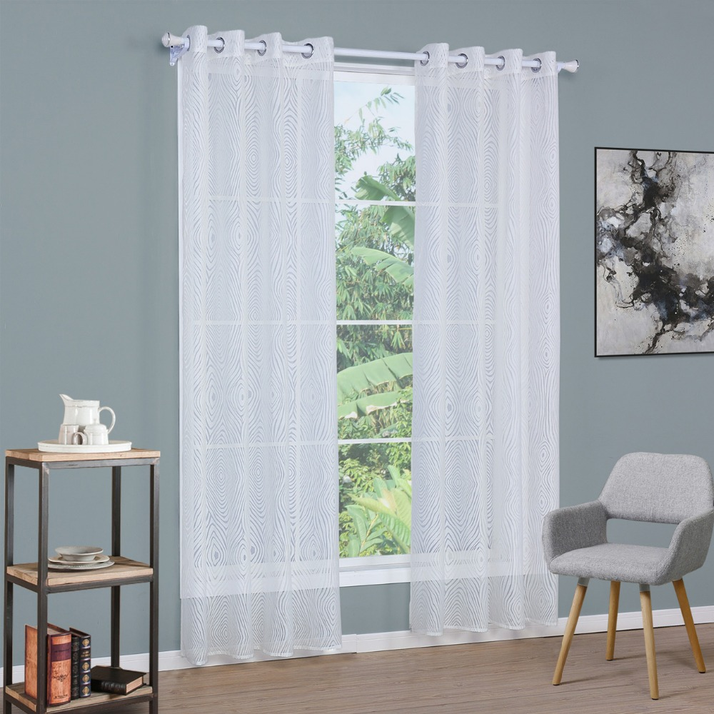 Free Shipping European Style Fashion Fancy Design Tulle: Popular Sheer Curtains White-Buy Cheap Sheer Curtains