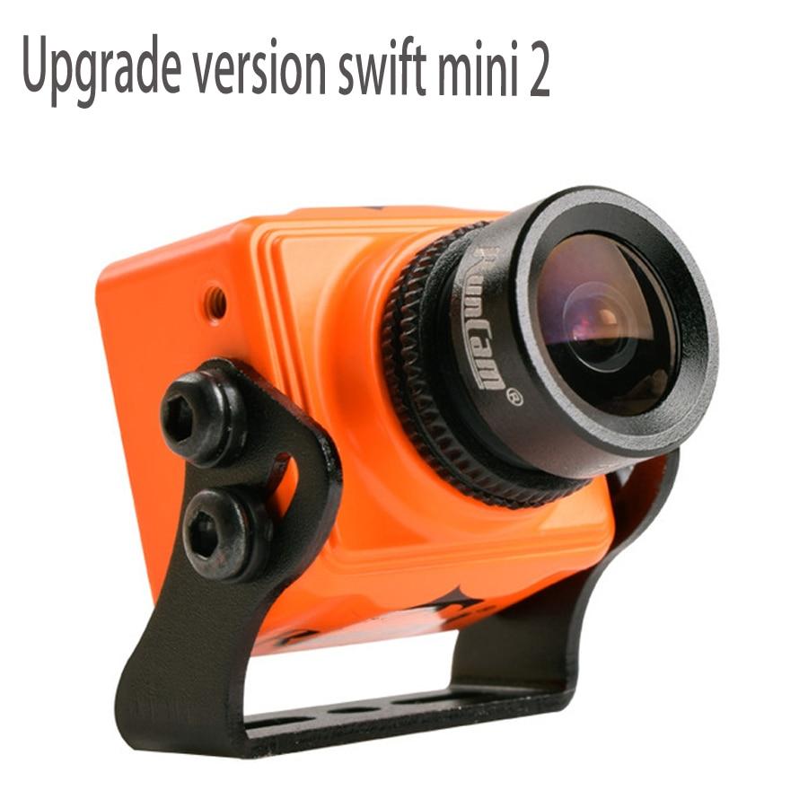 RunCam Swift Mini 2 Камера 600TVL 5-36 В FPV Камера 2,3 2,5 мм объектив PAL D-WDR 1/3 SONY Super HAD CCD II для FPV Racing Drone Quad