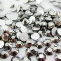 Низкая Цена SS3-SS34 Стекло Серебряный Кристалл, Не Исправление FlatBack Ногтей Стразами Nail Art Украшения Блеск отделка Стразами