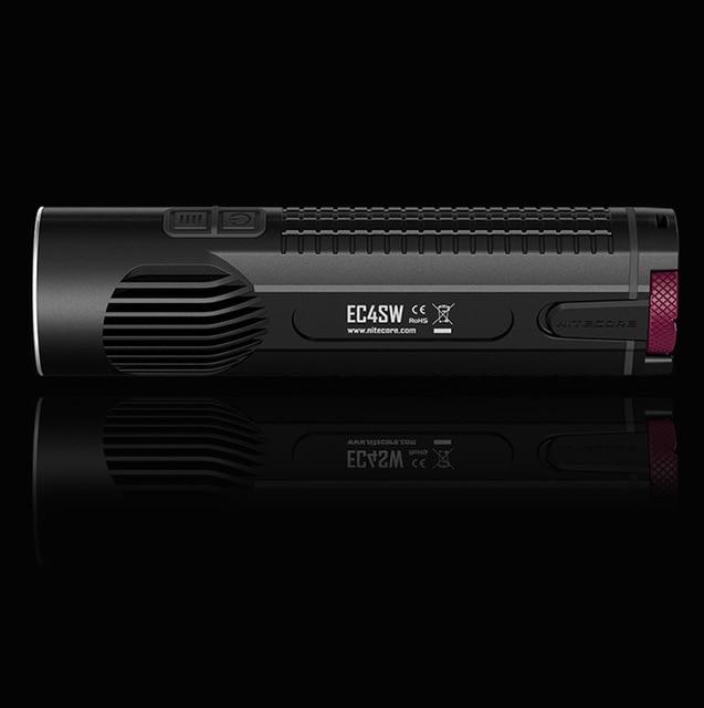 1 pc  NITECORE EC4S EC4SW 2000Lm White Light Portable Neutral Handy Super Bright XHP50 Lantern Flashlight Torch Outdoor Hunting