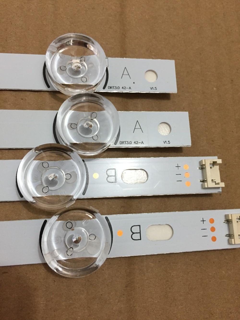 8 PCS(4*A,4*B) LED Strips For LG INNOTEK DRT 3.0 42