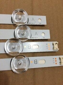 8 PCS(4*A,4*B) LED strips for LG INNOTEK DRT 3.0 42-A/B Type 6916L 1709B 1710B 1957E 1956E 6916L-1956A 6916L-1957A ,used parts 4 pieces lot 2 a 2 b led backlight bar for lg innotek drt 3 0 42 a 42 b type rev01 6916l 1709b 1710b 1957e 1956e 1956a 1957a