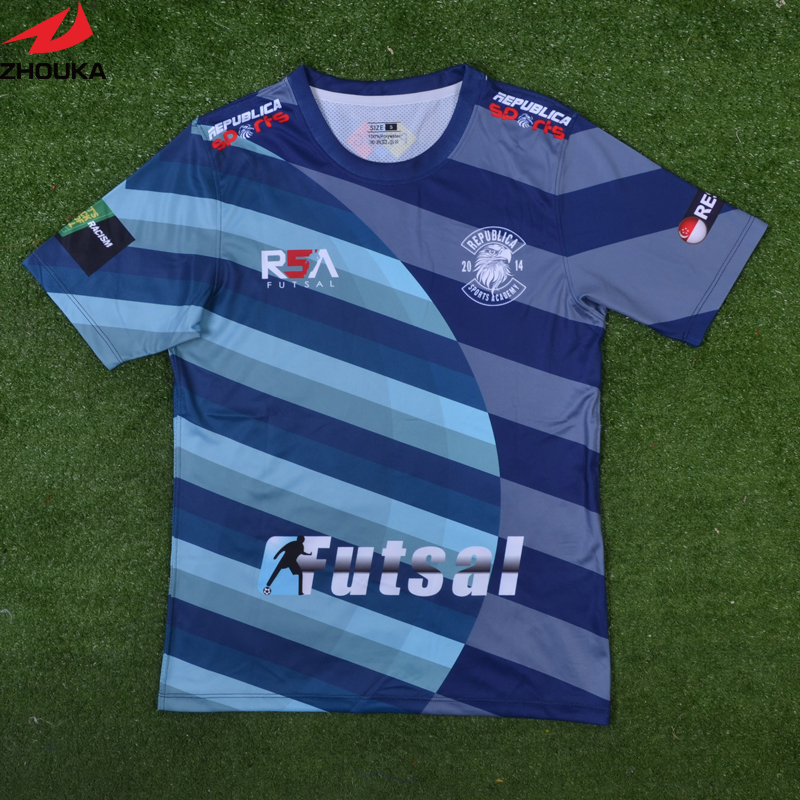 Sublimation football font b shirt b font maker soccer jersey Soccer jersey manufacturer Free shipping custom