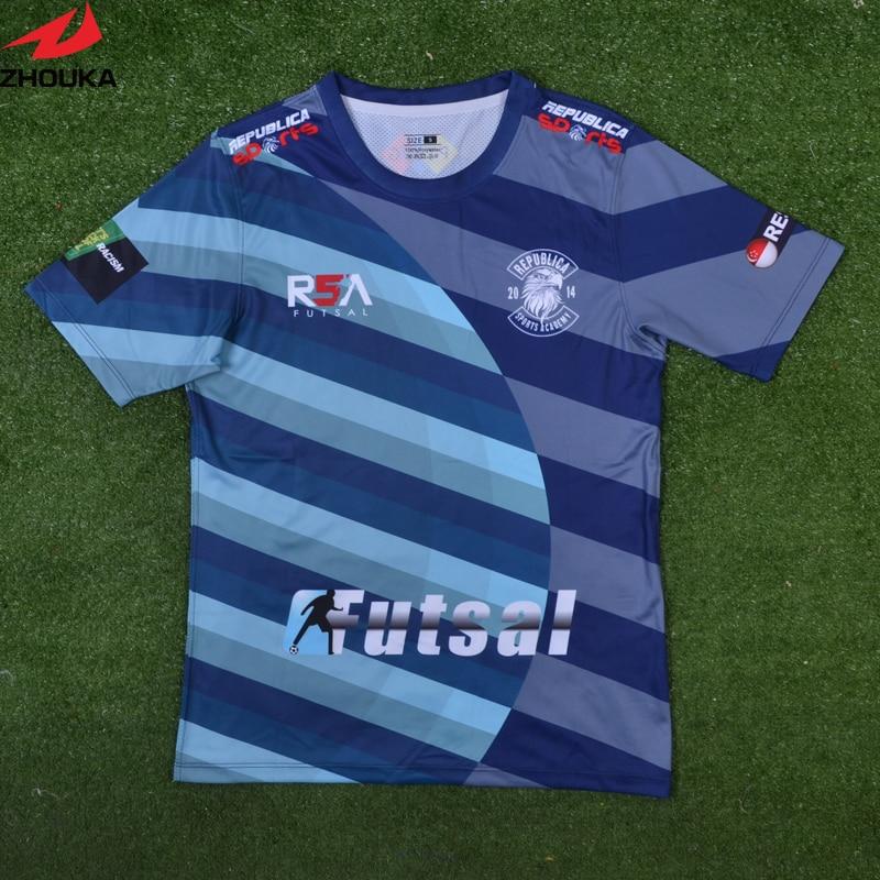 177add5ba Sublimation football shirt maker soccer jersey