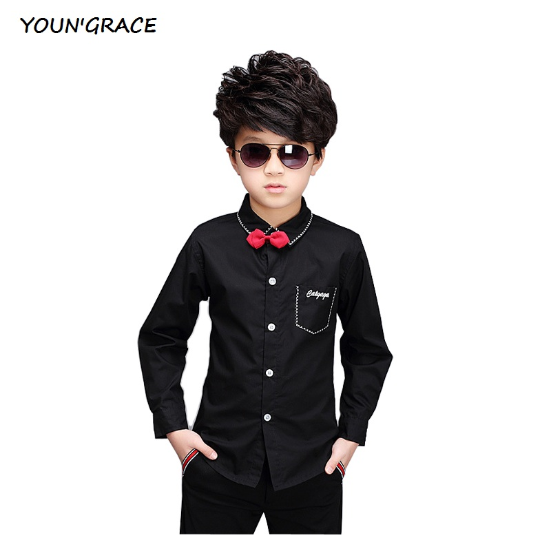 Compare Prices on Boys Long Sleeve Dress Shirt- Online Shopping ...