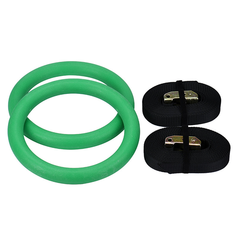 snowshine3 #3001 Adjustable Fitness Gymnastics Rings Full Body Strength And Crossfit Training free shipping