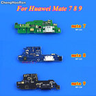 ChengHaoRan 1Piece For Huawei Mate 7 8 9 Mate S Micro Dock Connector USB Charging Charge Board Port Flex Cable Repair Parts