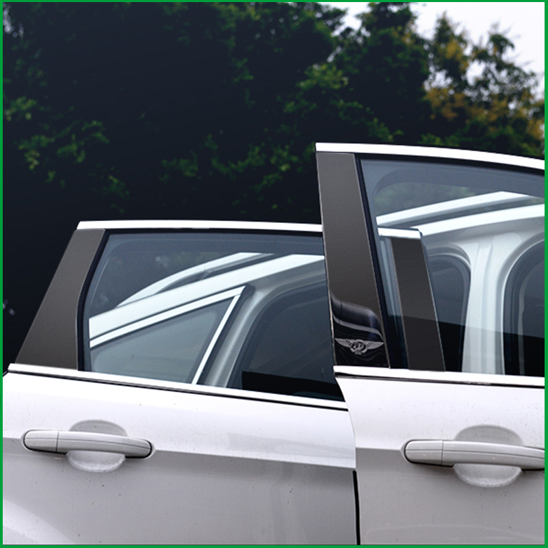 Chrome Exterior Side Rearview Mirror Cover Trim For Ford Kuga Escape 2013-2017