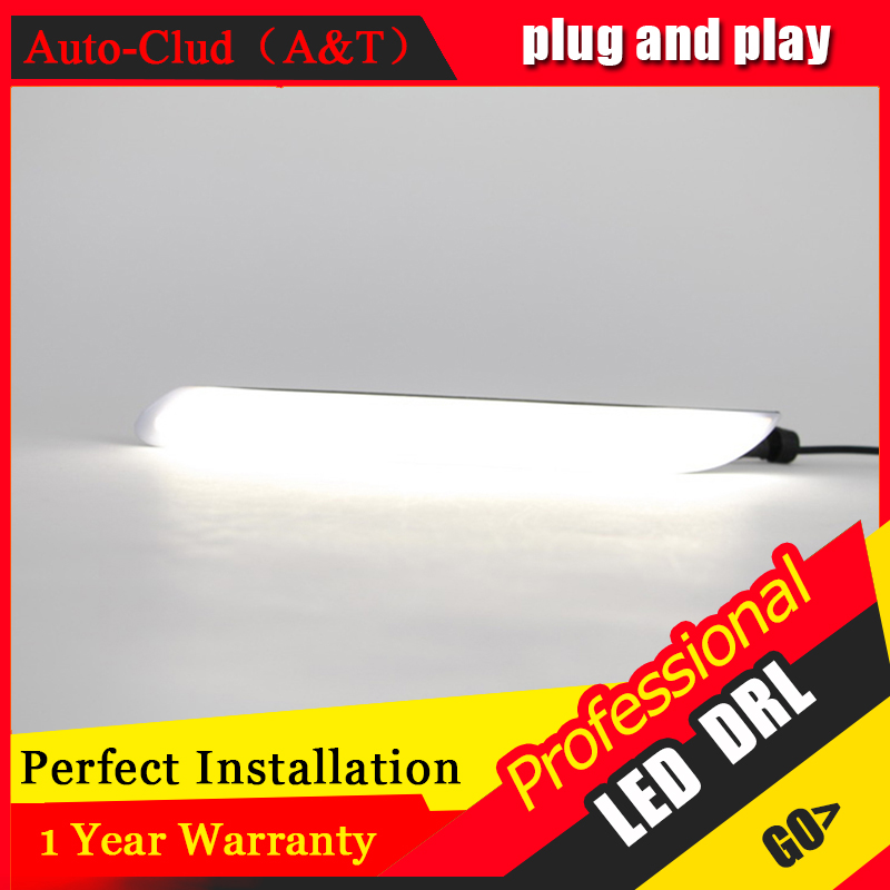 Auto Clud car styling For peugeo 408 LED DRL For 408 led daytime running light High brightness guide LED DRL