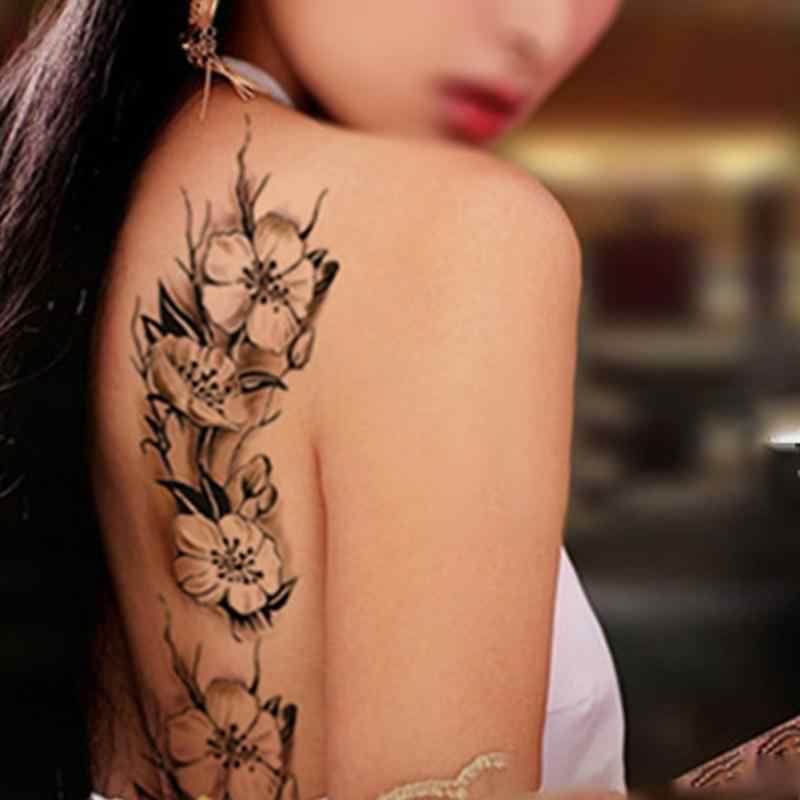 Sexy Women Temporary Tattoo Plum Blossom Waterproof Tattoo Stickers 9 18 5cm Body Art Tattoo Flower Tattoo Flower Tattoo Stickerwaterproof Tattoo Sticker Aliexpress