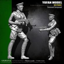 цена на Yufan Model 1/24  75mm Soldier Model Kit Figure Unmounted  Yfww-1839