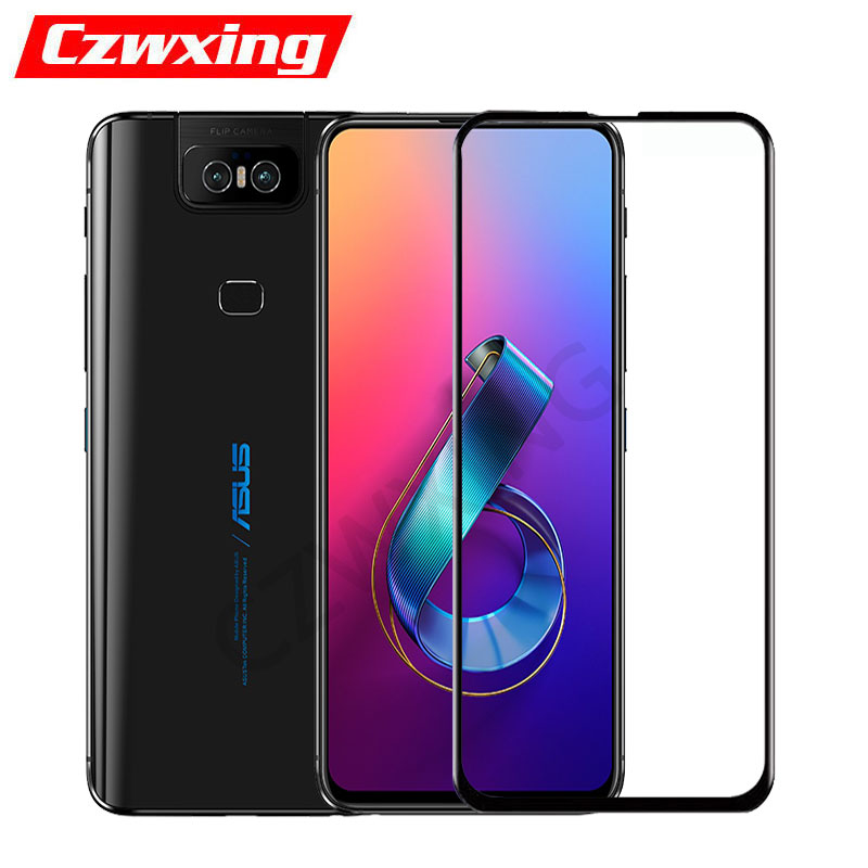 Asus ZS630KL Glass Screen Protector Tempered Glass For Asus Zenfone 6 ZS630KL ZS ZS630 630 630KL KL I01WD Protective Glass Flim
