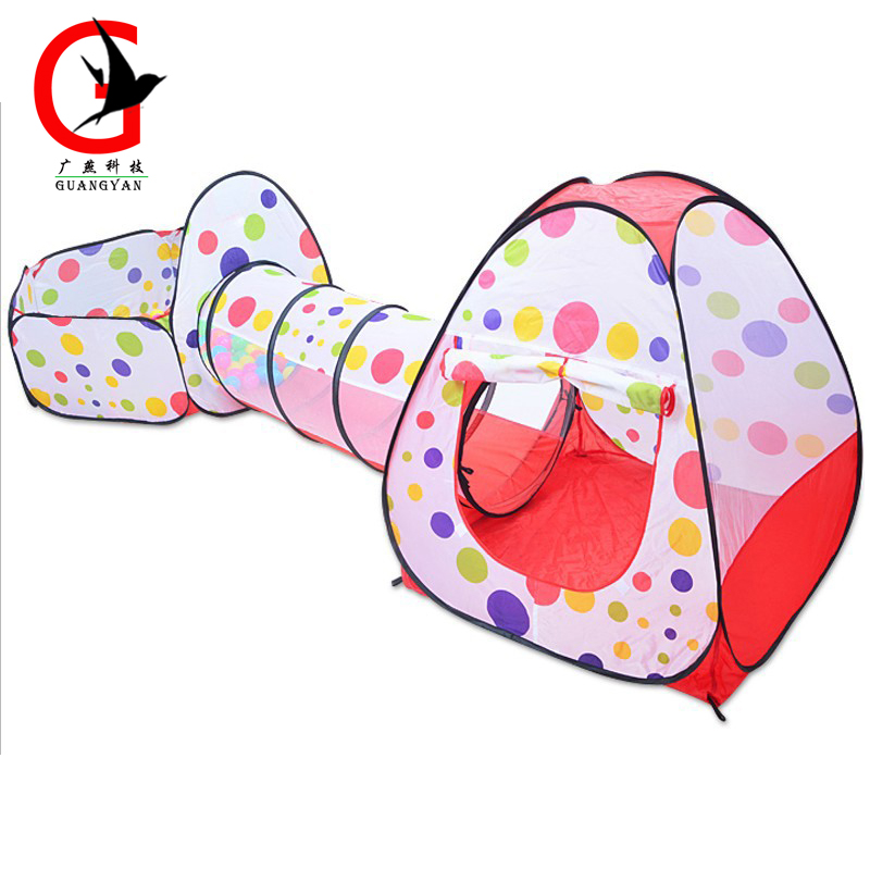 3 pieces set Portable Baby Playpen Children Kids Ball Pool Foldable Pop Up Play Tent kids Outdoor Toys Fancing XH-1 купить