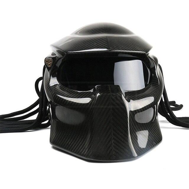 ATV Motorcycle Full Face Predator Helmet Motorcross Carbon Fiber Downhill Cross Kask Motocross KTM Riot Monster