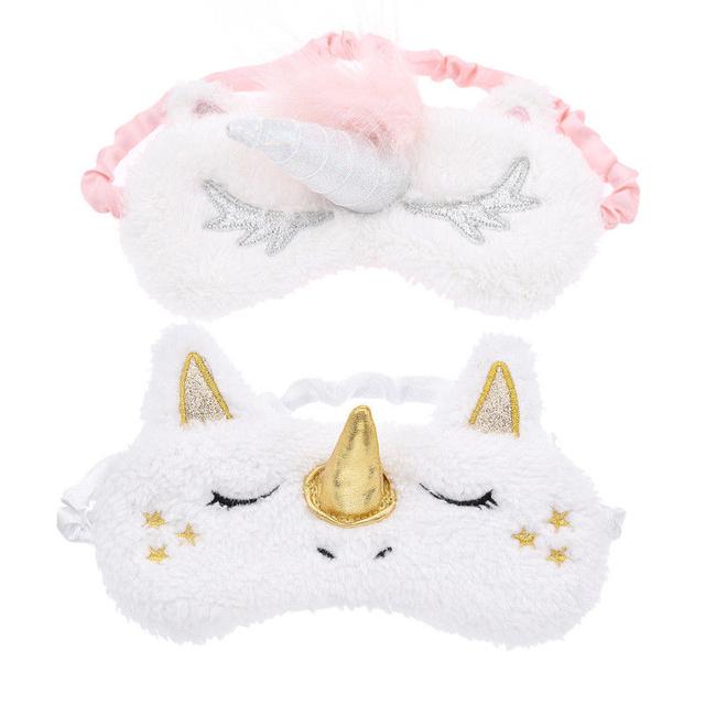 Plush Unicorn Sleep Mask