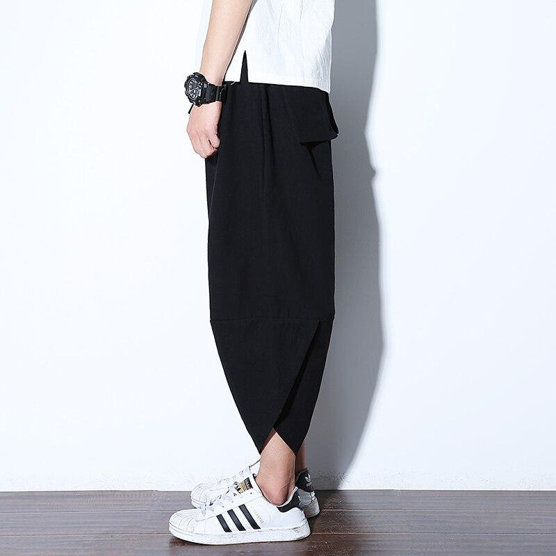 Jogger Sweatpants Nepal Trousers Harem Loose Male Plus-Size Men Fashion Summer Casual