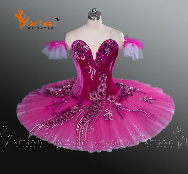 Sugar Plum Red-Violet Professional Ballet Tutu BT874 Adult Girls Classical Pink Kids - Guangzhou Blacswan Dance & Activewear Co., Ltd. store