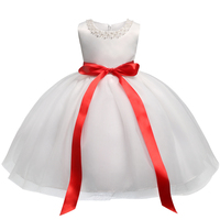 Cute White Baby Dresses For Baptism Baby Girl 1st Birthday Outfits Kids Clothes Girls Infant Party
