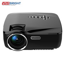 1200 Lumens Support 1920x1080P Analog TV LED Projector Wifi  3D Android 4.4  Projector for Home Cinema GP70UP