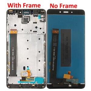 Image 2 - Pantalla LCD para Xiaomi Redmi Note 4, pantalla táctil con Marco, 5,5 pulgadas, MTK Helio X20