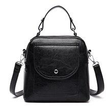 Estuaqueen Crossbody Bags Women 2019 Shoulder Bags Female Vintage Leather Bags Women Handbags Famous Brand Rivet Small Ladies