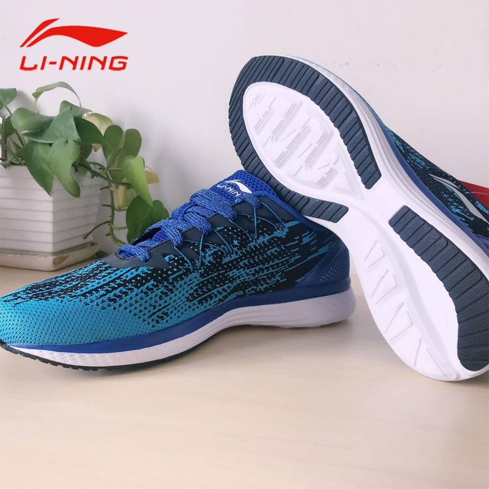 Li-Ning Men Breathable Textile Reflective Running Shoes Speed Star Cushioning Light Sneakers ARHM063 li ning men s professional basketball shoes speed