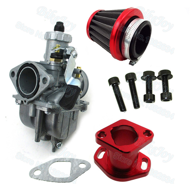 VM22-3847 Mikuni Carburetor Kit For GX200 196cc Clones Engine Predator 212cc Go Kart Mini Bike go-kart