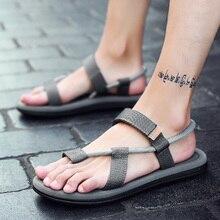 Allwesome Sandals Men Sandalias Hombre Gladiator Sandals  Male Summer Roman Beach Shoes Flip Flops Slip on Flats Slippers Slides