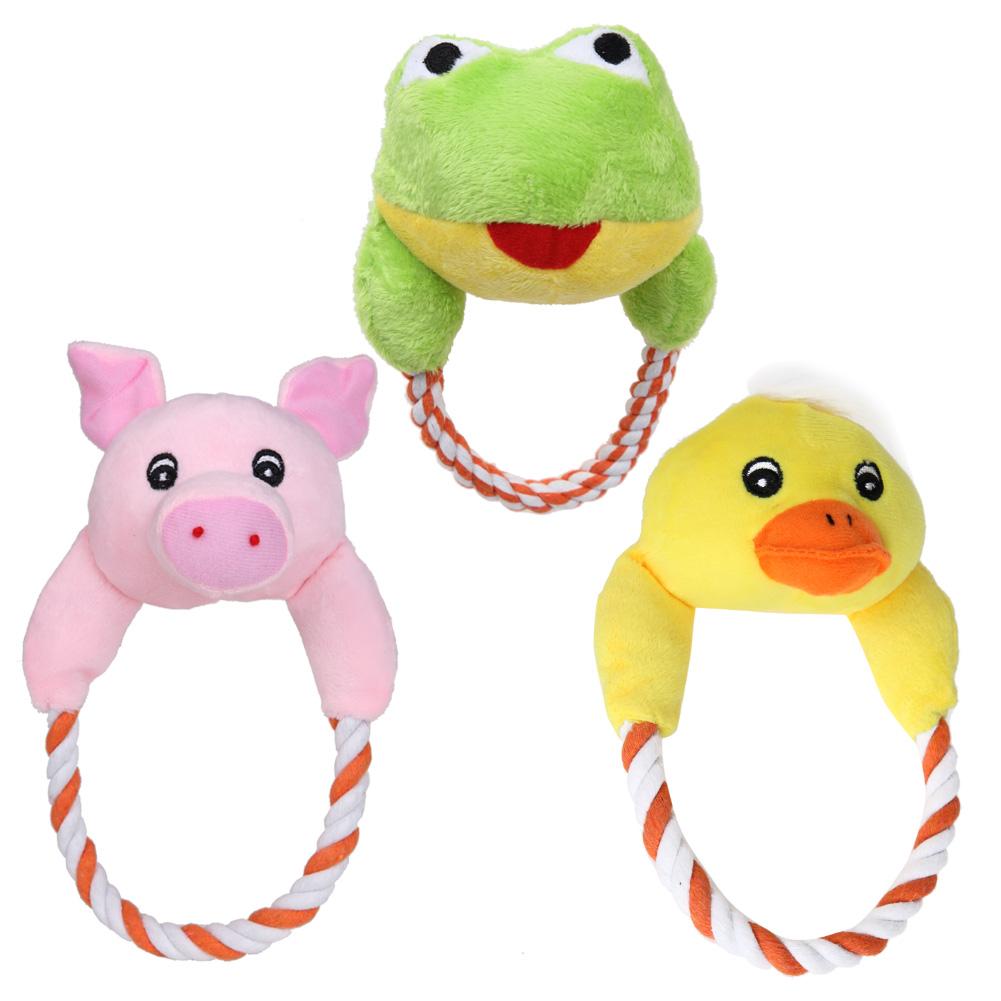 Home & Garden 5 Styles Hot Sale Dog Cat Toys Pet Puppy Chew Plush Toys Cute Thumb Pet Interactive Toy Cute Design Doggyzstyle