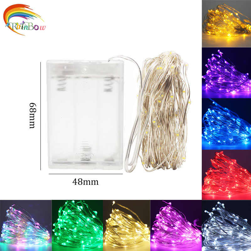 Battery fairy lights usb led string lights outdoor guirlande lumineuse led garland light fairy lights for garland decoration