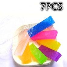 3G model Japanese hinodewashi plastic resin free turnover 7PCS/24PCS  instamorph plastimake Soft Ceramic Clay Model
