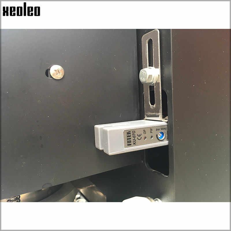 Xeoleo полная автоматическая машина для запечатывания стаканчиков для Bubble tea запайщик стаканов для детей ростом от 90/95/98 мм PP/PET/Бумага чашки 220 V/110 V адаптируемые под требования заказчика