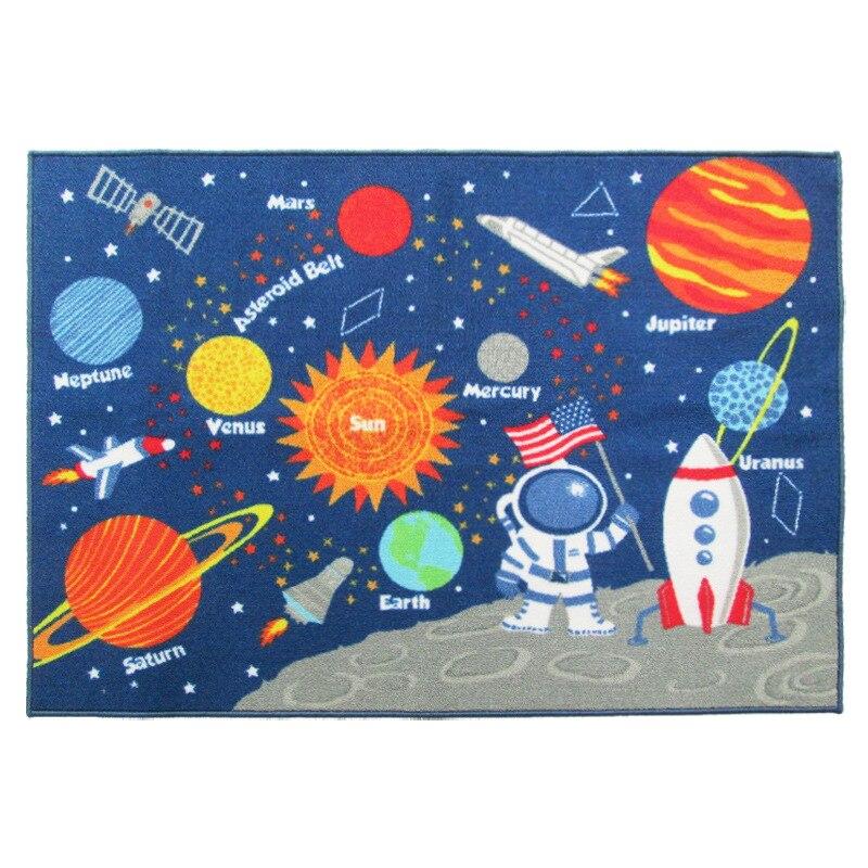 100*130 cm Espace Bébé tapis de jeu Les Nouveau-nés Literie Jouer Crawl Tapis Tapis jouets éducatifs Pour Enfants Jeux de Sport Route Tapis
