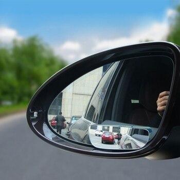 ใหม่ล่าสุด 2 Pcs Auto Side 360 มุมกว้างกระจกนูนยานพาหนะ Blind Spot กระจกมองหลังกระจกมองหลังกระจกขนาดเล็กรถ - ...