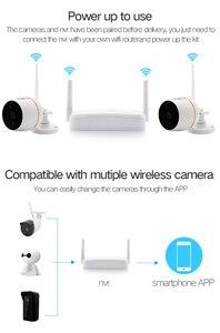 Image 5 - Wireless mini Sistema di Telecamere di Sicurezza HD 1080 P Wifi Mini NVR Kit di Video Sorveglianza Esterna Casa Senza Fili del IP Della Macchina Fotografica Set